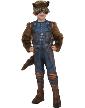 Rocket Raccoon Kostüm für Jungen - Guardians Of The Galaxy Vol. 2