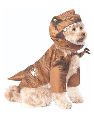 Costume da Tirannosauro Rex per cane - Jurassic World