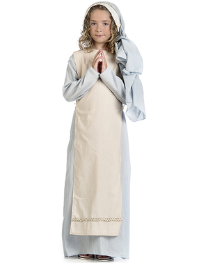 Déguisement Vierge Marie bienveillante fille