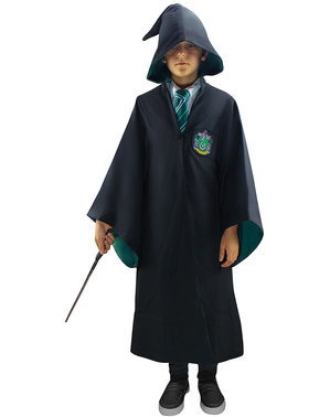 Slytherin Umhang Deluxe für Jungen (Offizielle Replik) - Harry Potter