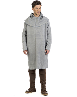 Coat of mail tunic for men