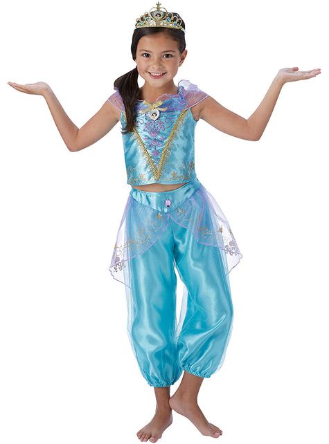 Fato de Jasmine para menina - Aladdin