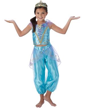 Jasmine kostuum voor meisjes - Aladdin