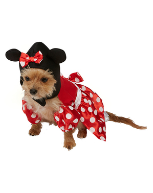 犬用ミニーマウスコスチューム