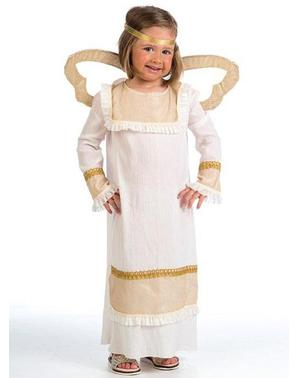 Złoty Strój anioła dla dziewczynek