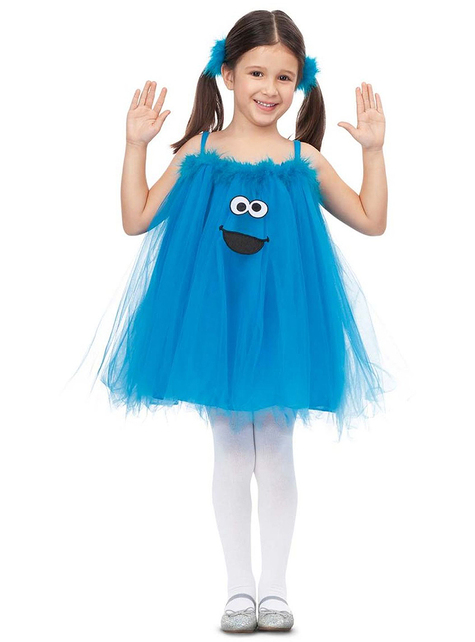 Sesamstraat Koekie monster kostuum voor meisjes