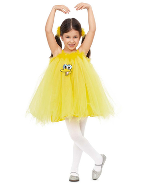 Déguisement Big Bird Sesame Street fille