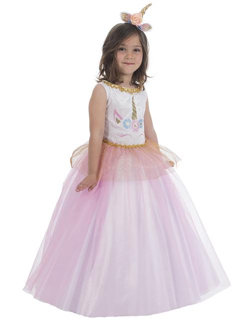Детски костюм на принцесата на еднорозите