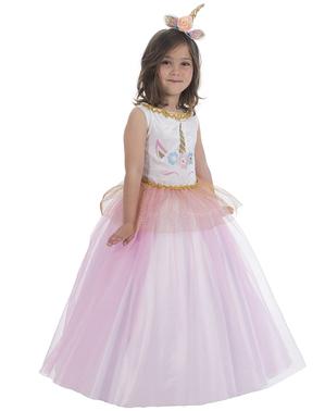 Fato de Princesa Unicórnio para menina