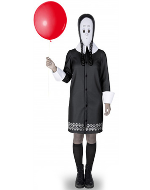 Costum Wednesday Familia Addams pentru femeie