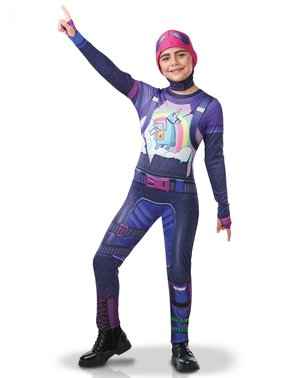 Fortnite Brite Bomber kostuum voor tieners