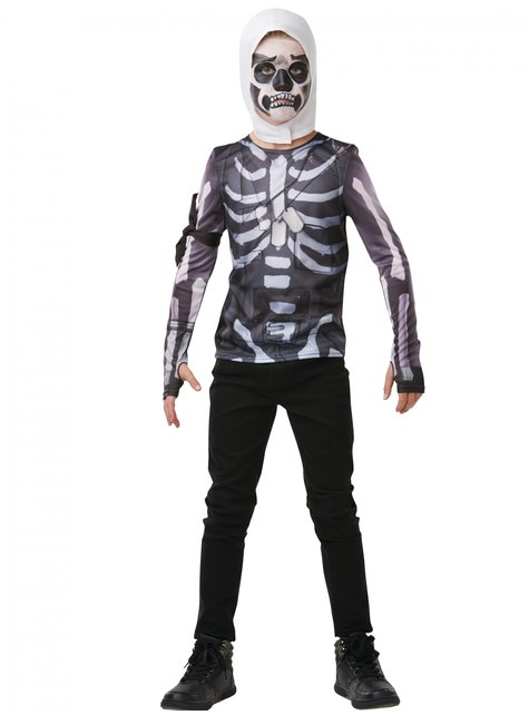 T-shirt Fortnite Skull Trooper för ungdom