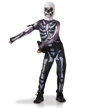 Fortnite Skull Trooper Kostüm für Jugendliche