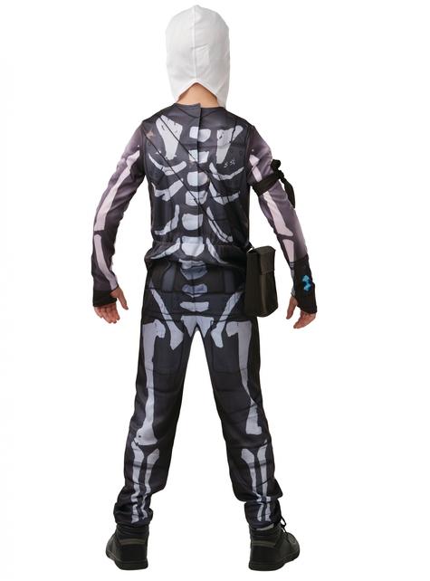 Fato de Fortnite Skull Trooper para adolescente