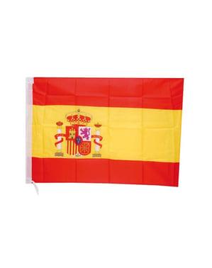 Drapeau d'Espagne en tissu