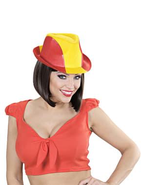 Fedora hoed Spanje voor volwassenen