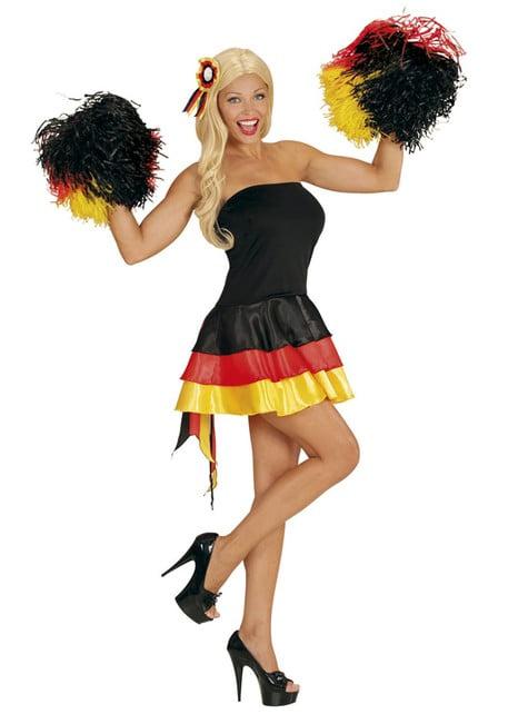 Vestido animadora de Alemania para mujer