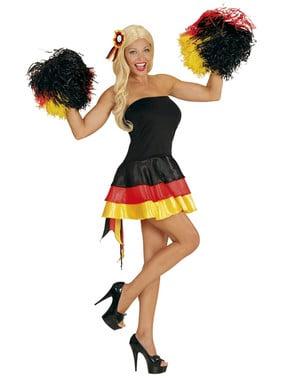 Vestito da cheerleader Germania per donna