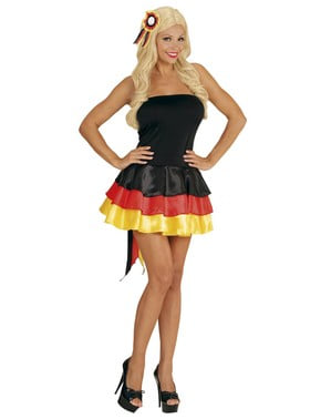 Saksalainen cheerleader, naisten mekko