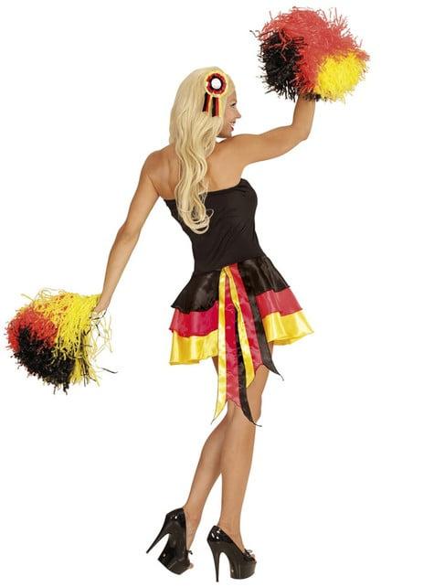 Vestido animadora de Alemania para mujer - original