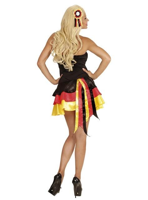 Vestido animadora de Alemania para mujer - traje