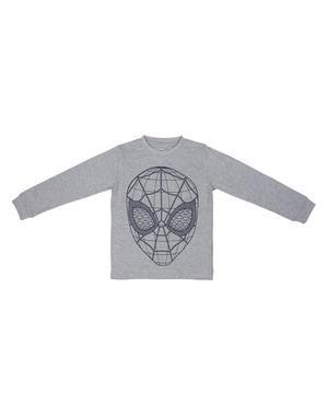 Spindelmannen pyjamas för pojke blå och grå- Marvel