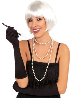 20世纪20年代白色假发