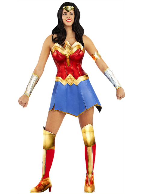 Costume Wonder Woman taglia grande