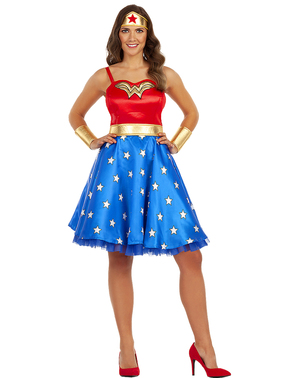 Klasični Wonder Woman kostim plus size