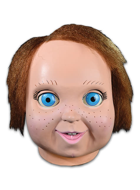 Máscara de Chucky muñeco bueno para adulto