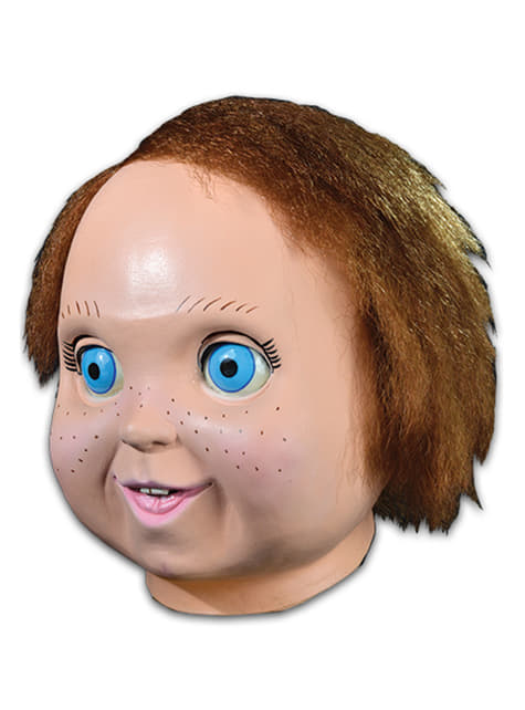 Máscara de Chucky muñeco bueno para adulto - para tu disfraz
