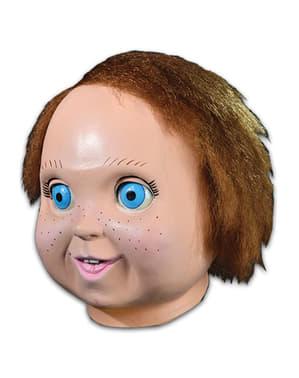 Maschera da Chucky bambola buona per adulto