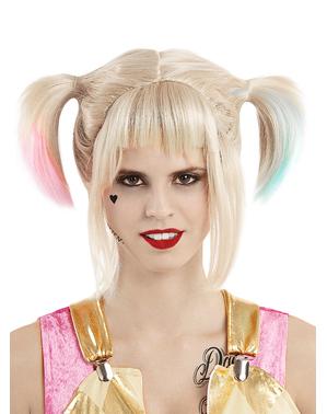 Harley Quinn pruik - Birds of Prey