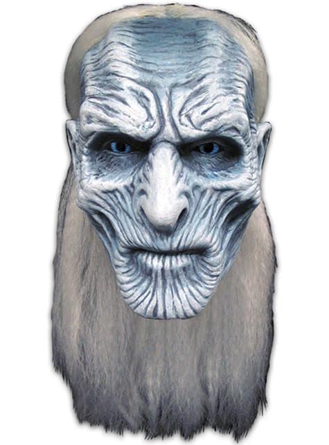 Masker White Walkers Game of Thrones voor volwassenen