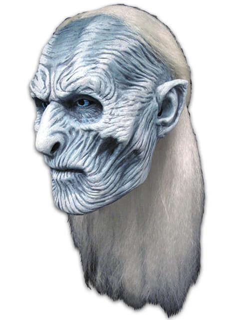 Máscara de Caminante Blanco Juego de Tronos para adulto - para tu disfraz