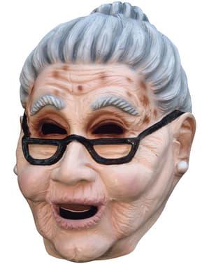 Nagymama Halloween maszk