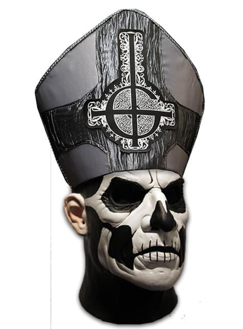 Adult's Ghost Pope Emeritus II Deluxe Mask