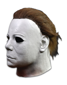 Máscara de Michael Myers deluxe Halloween II para adulto