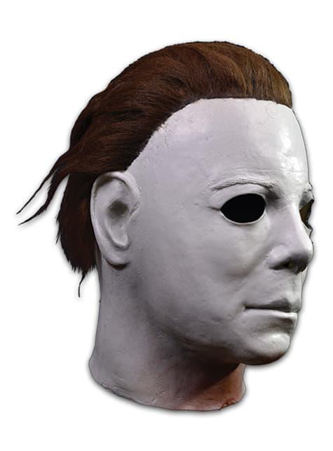 Máscara de Michael Myers deluxe Halloween II para adulto - original