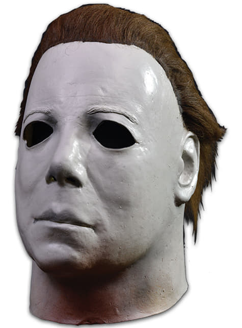 Máscara de Michael Myers deluxe Halloween II para adulto - barato