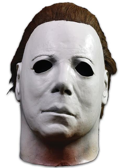 Máscara de Michael Myers deluxe Halloween II para adulto - Halloween