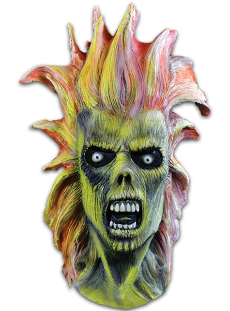 Máscara de Eddie Iron Maiden para adulto
