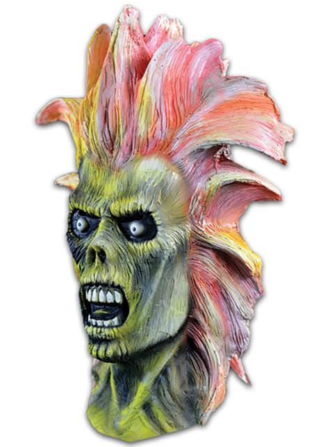 Máscara de Eddie Iron Maiden para adulto - original