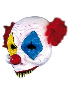 Open Gus Clown Halloween Halvmask