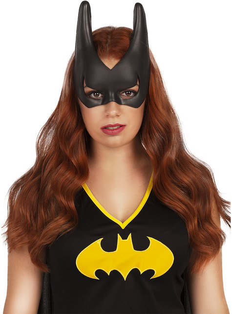 Official Ladies DELUXE BATGIRL DC Comic Superhero Fancy Dress Costume Adult Bat