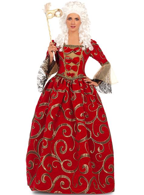 Barokní paruka - ke svému kostýmu