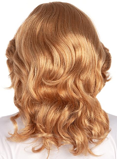 Peruka blond lata 70 - do Twojego kostiumu