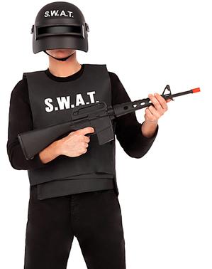 Fusil d'assaut avec son