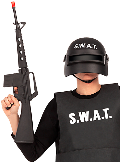 Assault rifle with sound - for your costume