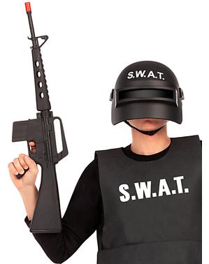 Útočná puška ozvučená